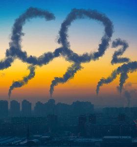 Britų anglies dioksido pėdsakas lenkia afrikiečių pėdsaką keliasdešimt kartų