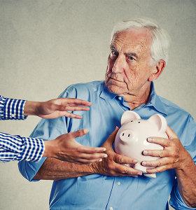 Ar įmanoma prarasti pensijų fonde sukauptus pinigus? Specialisto paaiškinimas