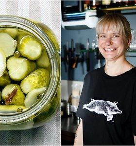 """""""Bulvių košės"""" receptas: marinuoti agurkai su citrina ir imbieru"""