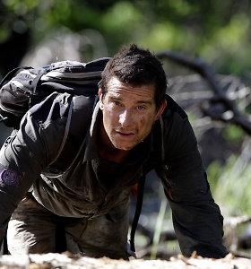 """Bear Gryllsas: """"Nesėkmės, baimė, vidinė energija ir tikėjimas man padėjo įkopti į Everestą"""""""