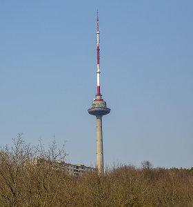 Bus dažoma Vilniaus televizijos bokšto antena, sostinėje galimi signalo sutrikimai