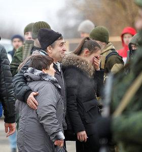 Ukrainos valdžia ir separatistai apsikeitė 200 kalinių