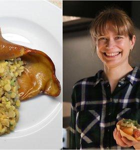 """""""Bulvių košės"""" receptas: kiaulių ausys su žirniais"""