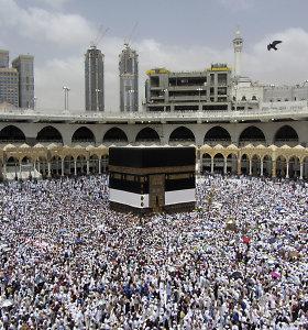 Saudo Arabijoje daugiau nei 2 mln. pasaulio musulmonų pradeda hadžą