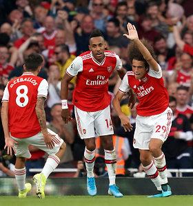 """Šiaurės Londono derbyje """"Arsenal"""" panaikino dviejų įvarčių deficitą"""
