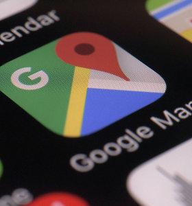 """Rusija gali pateikti ieškinį """"Google"""" dėl Krymo žemėlapių"""