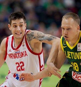 Į pasaulio čempionatą nepatekę kroatai žais NBA vasaros lygoje