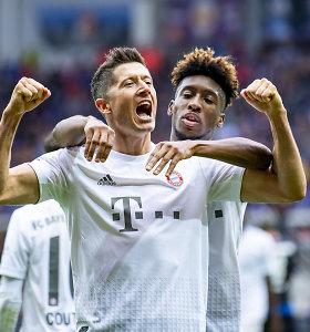 """Bundeslyga: penkių įvarčių vakarėlyje triumfavo """"Bayern"""""""