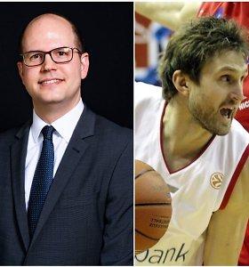 Pažintis su naujuoju FIBA vadovu – gynė A.Macijauską, dabar turi atsakymų Sabui