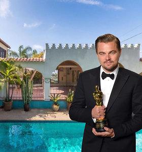 """Leonardo DiCaprio parduoda namą Los Andžele, kurį prieš 20 metų nusipirko išgarsėjęs """"Titanike"""""""