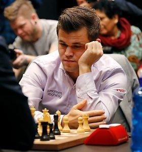 Pratęsime vertę įrodęs Magnusas Carlsenas – pasaulio šachmatų čempionas