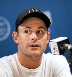 Andy Roddickas išmetė beveik visus trofėjus – pasiliko tik vieną