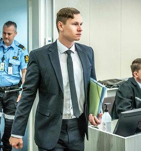 Norvegų prokurorai prašo 21 metų kalėjimo bausmės šaudynes mečetėje surengusiam vyrui