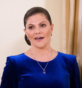 Švedijos kronprincesė Vilniuje atidarė parodą apie darnų vystymąsi