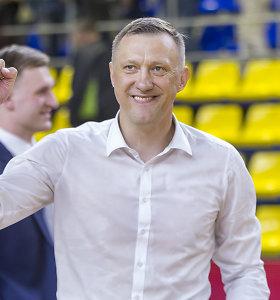 """Darbo pasiūlymų iš klubų sulaukęs Žydrūnas Urbonas: """"Netikėta"""""""