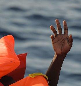 Prie Maroko krantų apvirtus valčiai žuvo septyni migrantai