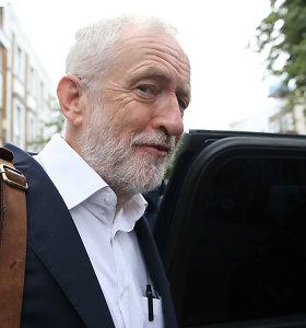 JK Leiboristų partija per chaotišką balsavimą atmetė siūlymą agituoti už pasilikimą ES