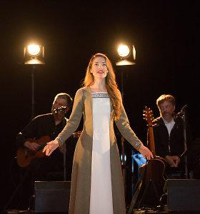 """Koncertas """"Dainuoju Tau gyvenimą"""" su bardais Sauliumi Bareikiu, Olegu Ditkovskiu ir Gediminu Storpirščiu"""