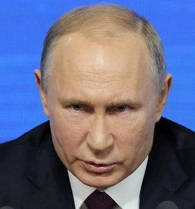 Vladimiras Putinas kaltina Vakarus Balkanų destabilizavimu