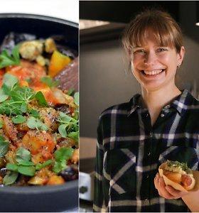 """""""Bulvių košės"""" receptas: paprikų ir baklažanų troškinys"""