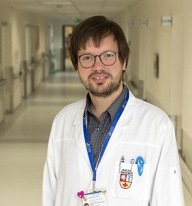 #PriešakinėseLinijose. Gydytojas onkologas Domas Vaitiekus: atsakomybė – tai pagrindinis dalykas