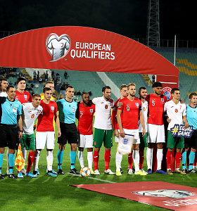 Rasizmo skandalas išvertė iš posto Bulgarijos futbolo sąjungos prezidentą
