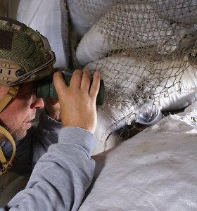 Jono Ohmano kelionės į karo zoną rytinėje Ukrainoje