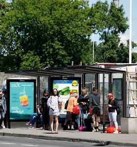 Klaipėdoje ir Pakruojo rajone autobusų stotelėse užpulti žmonės
