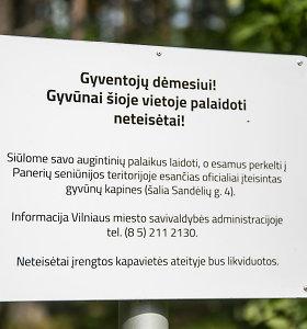 Nelegaliose sostinės gyvūnų kapinėse žmonės raginami išsikasti savo augintinius