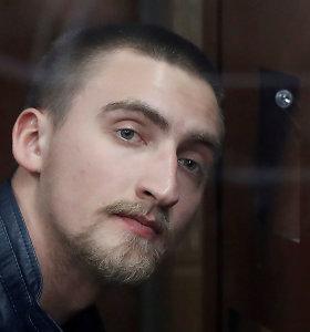 Rusijoje dėl opozicijos protesto vyras nuteistas kalėti pusketvirtų metų