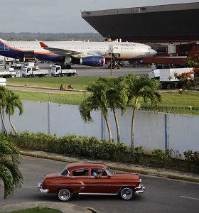 JAV uždraudė užsakomuosius skrydžius į Kubą, išskyrus sostinę