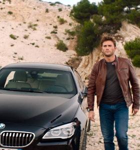 """Filme """"Overdrive. Greičio įkaitai"""" su Scottu Eastwoodu – naujausių BMW modelių flotilė"""