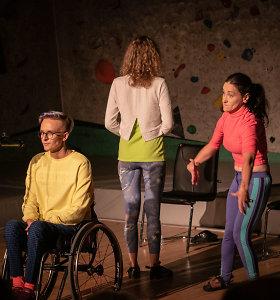 """""""Supergalios"""": stereotipus apie negalią griaunantis superspektaklis"""