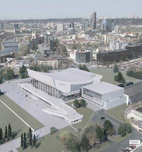 Turto bankas ir žydų organizacijos susiderino Vilniaus kongresų centro vystymo sprendinius