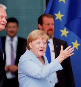A.Merkel: Vokietijos gynybos biudžetui iki 2024-ųjų gali būti skirta 1,5 proc. nuo BVP