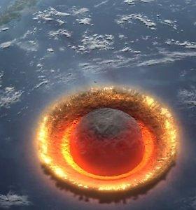 JAV vyriausybė baiminasi asteroidų-žudikų: kuria planą, kaip nukreipti smūgį