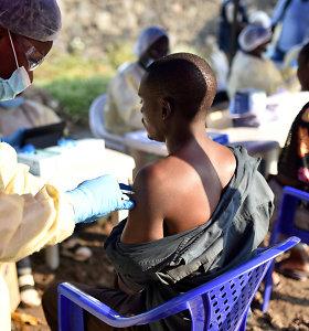 Dėl Ebolos karštligės protrūkio Ruanda uždaro sieną su Kongo DR