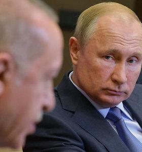 R.T.Erdoganas V.Putinui: B.al Assadas turi santūriai elgtis Idlibe