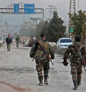 Sirijos Alepo provincijoje žuvo Irano revoliucinės gvardijos narys