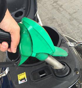 3 proc. degalų akcizų siūloma skirti klimato kaitos programai