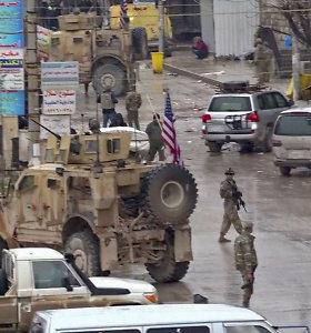R.T.Erdoganas: ataka Sirijos Manbidže galbūt siekiama atgrasyti JAV nuo karių išvedimo