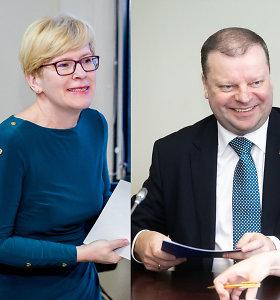 Balandžio 8-ąją – pirmieji G.Nausėdos, S.Skvernelio ir I.Šimonytės debatai