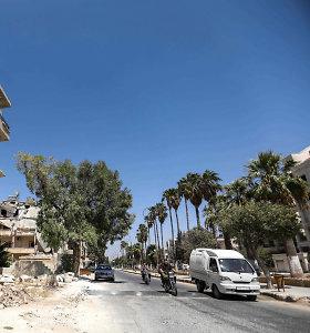 Per Sirijos režimo bombardavimą žuvo 12 civilių