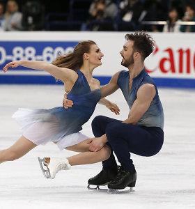 Šokių ant ledo kulminacija: žiūrovų širdys – prancūzams, auksas – Kanadai