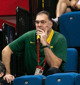 Krepšinio federacija patvirtino: Arvydas Sabonis pradėjo derybas su Kaziu Maksvyčiu