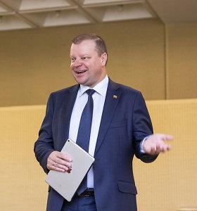 Po G.Nausėdos ir S.Skvernelio susitikimo – jokių komentarų dėl Vyriausybės sudėties