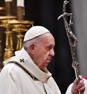 Popiežius į vadovaujamas pareigas Vatikano valstybės sekretoriate pirmąkart paskyrė moterį