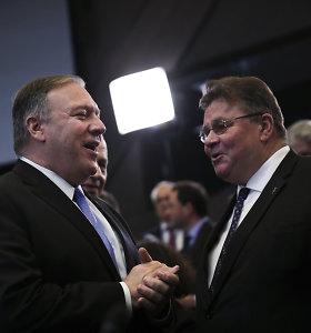 """Linas Linkevičius: """"NATO susitikimas – visomis prasmėmis sėkmingas"""""""