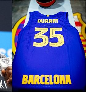 """""""Barcelona"""" nestabdo: ruošiasi K.Duranto atvykimui"""