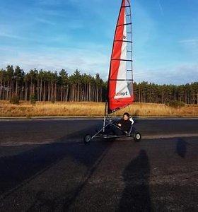 Šiltas vėjas lepino vėjaračių čempionato dalyvius